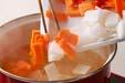 野菜の粕汁の作り方の手順5