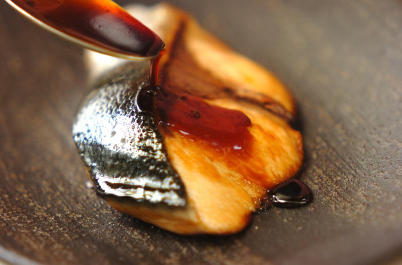 ブリの照り焼きの作り方の手順3