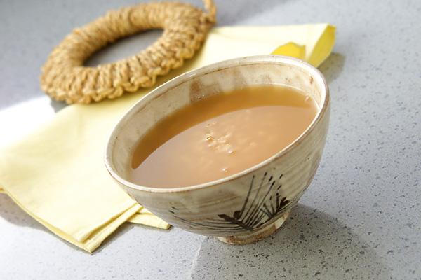 さらりと 茶粥