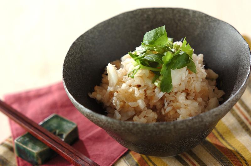 タラの炊き込みご飯の作り方の手順