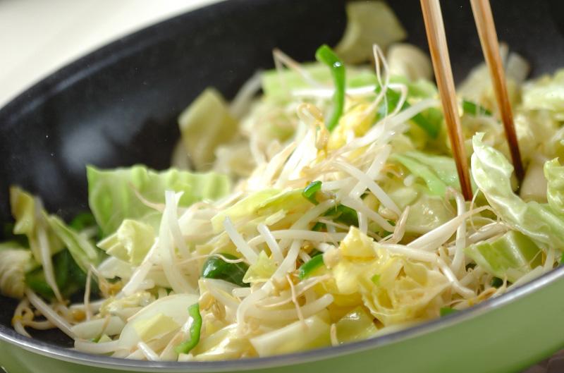 サッパリ野菜炒めの作り方の手順7