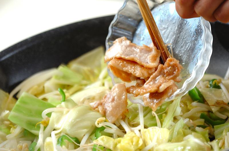 サッパリ野菜炒めの作り方の手順8