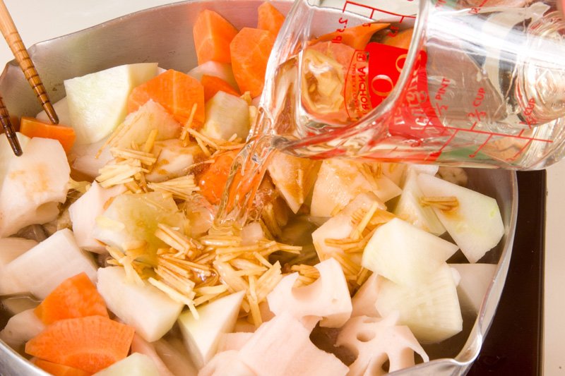 スペアリブの煮物の作り方の手順8