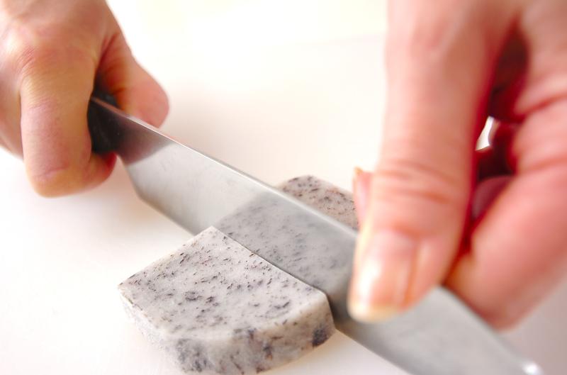 揚げ出しシソ餅の作り方の手順2