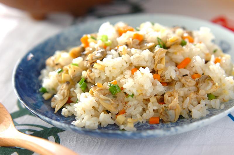 アサリ炒飯