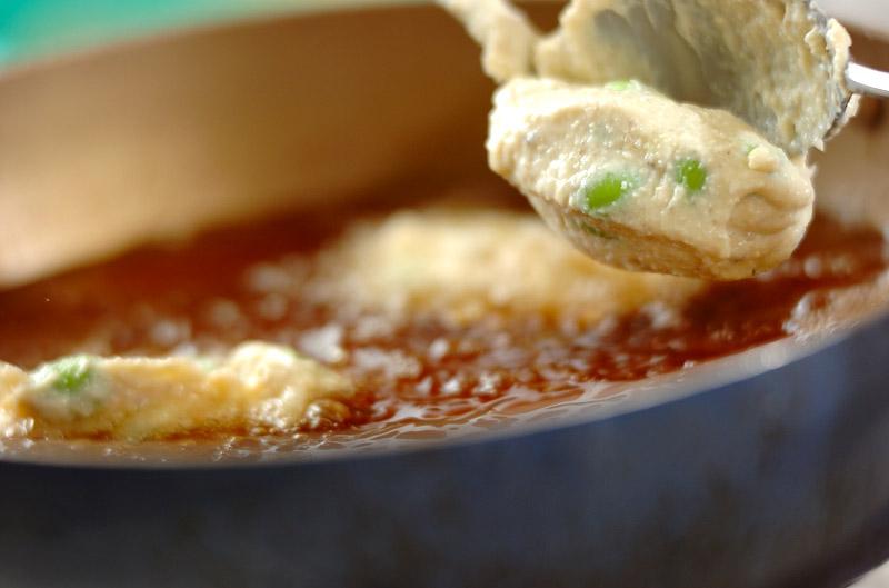 枝豆入りエビ揚げ団子の作り方の手順5
