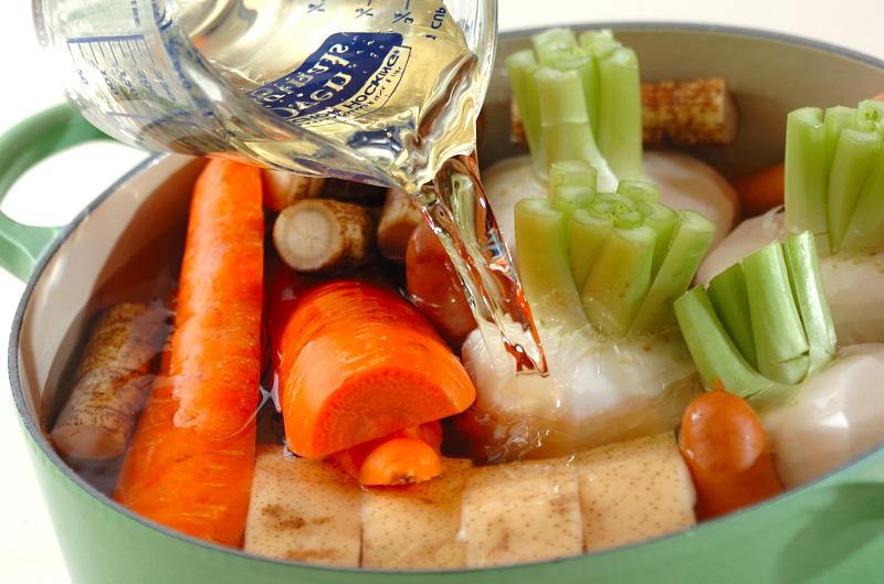 冬野菜のシンプル煮込みの作り方の手順5