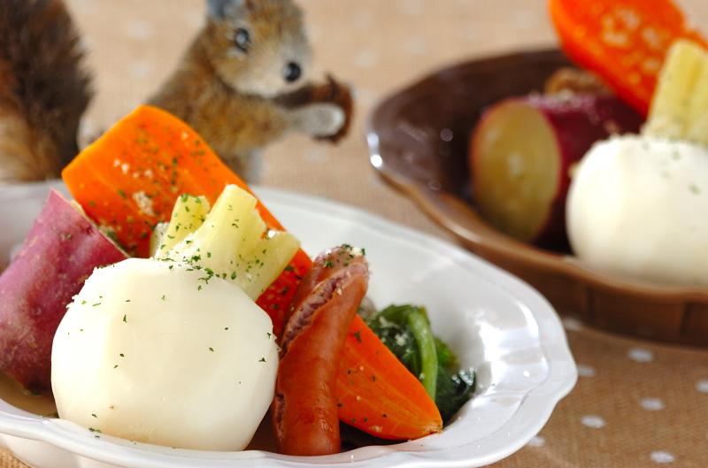 冬野菜のシンプル煮込みの作り方の手順