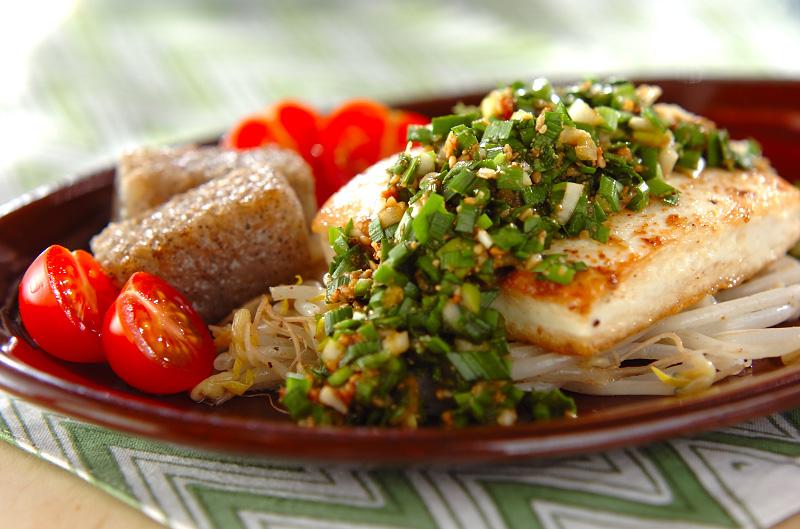 豆腐のステーキの作り方の手順