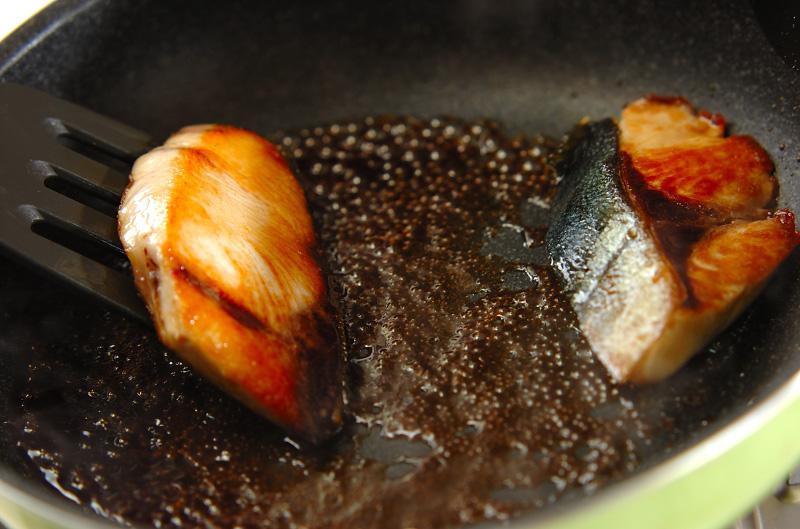 ブリの照り焼きの作り方の手順2