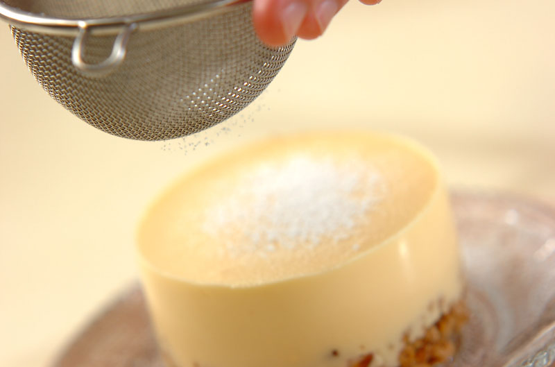 レアチーズケーキの作り方の手順11