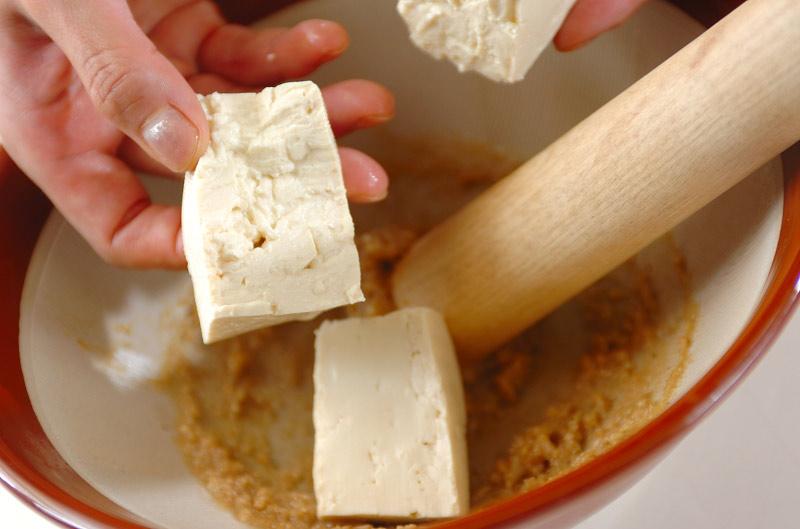 枝豆の豆腐和えの作り方の手順5