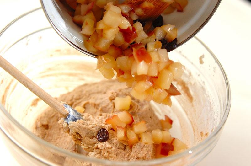 スパイシーリンゴのパウンドケーキの作り方の手順8