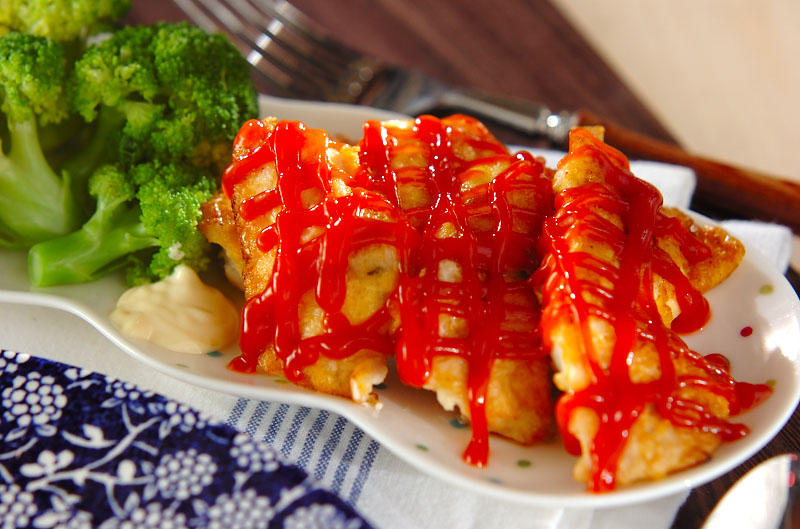 鶏むね肉のふんわりピカタの作り方の手順