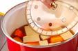 高野豆腐と鶏肉の煮物の作り方の手順6