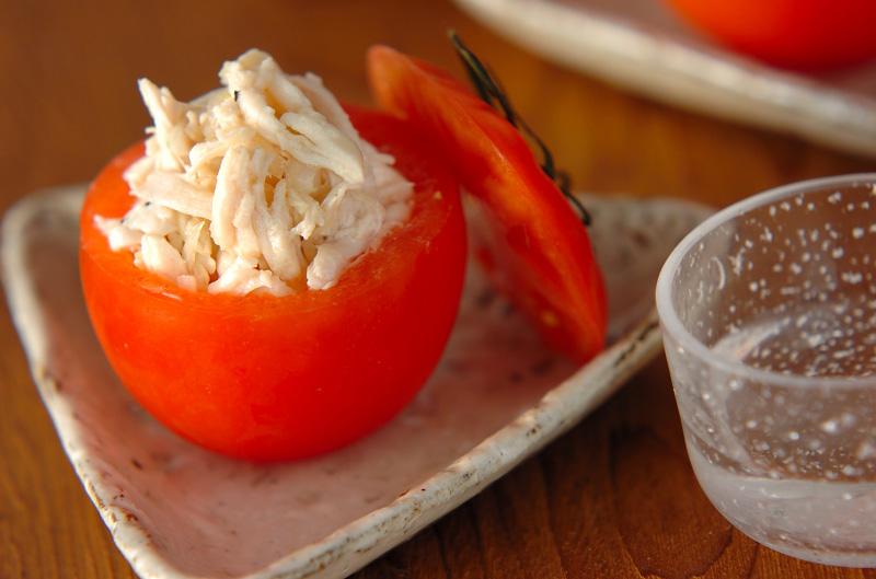 カップトマトのサラダの作り方の手順