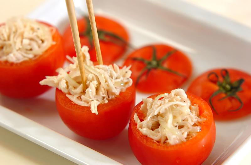 カップトマトのサラダの作り方の手順4