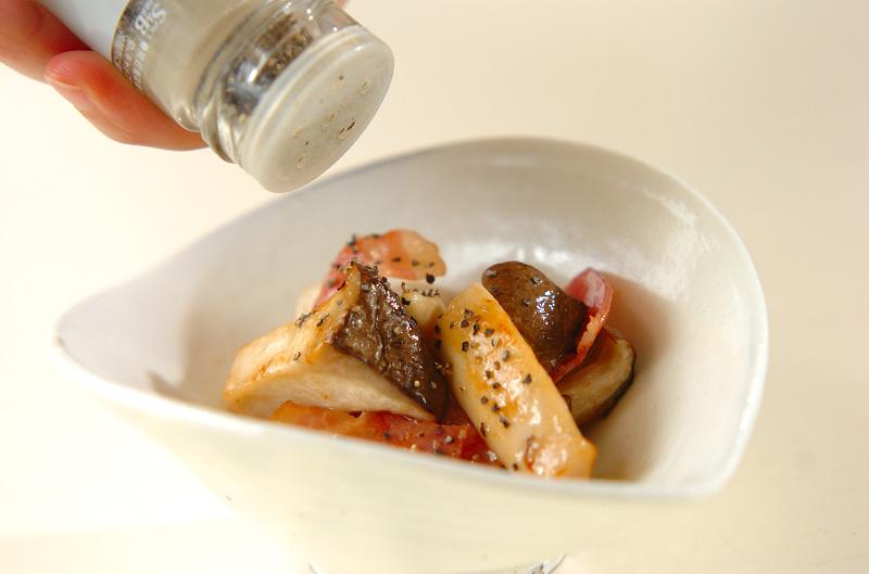 エリンギの蒸し煮の作り方の手順4
