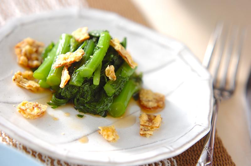 菊菜のお浸しの作り方の手順