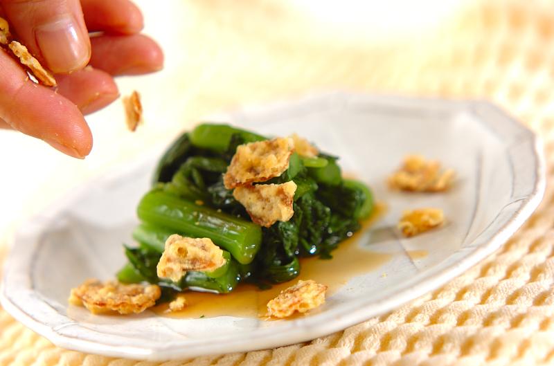 菊菜のお浸しの作り方2