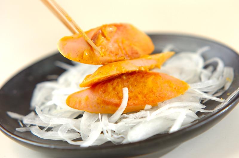 魚肉ソーセージのマスタード焼きの作り方の手順5