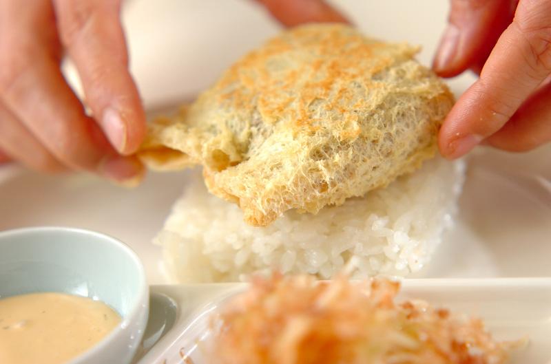 アボカド納豆ライスバ-ガーの作り方の手順11
