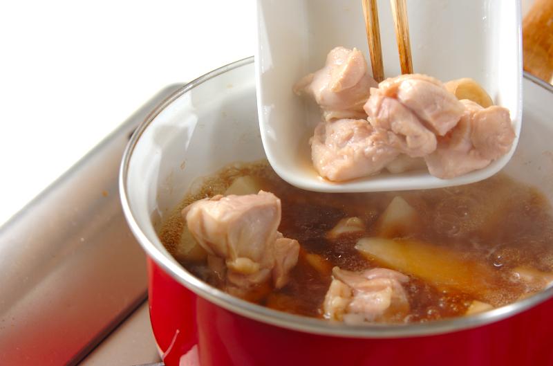 レンコンと長芋の煮物の作り方の手順5