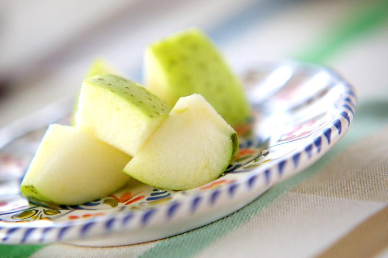 デザート・王林リンゴ