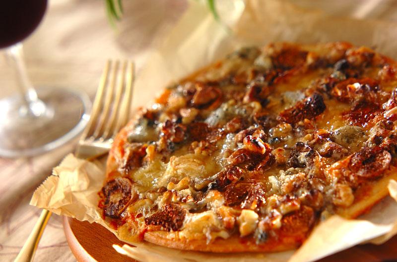 ゴルゴンゾーラとハニーのピザ