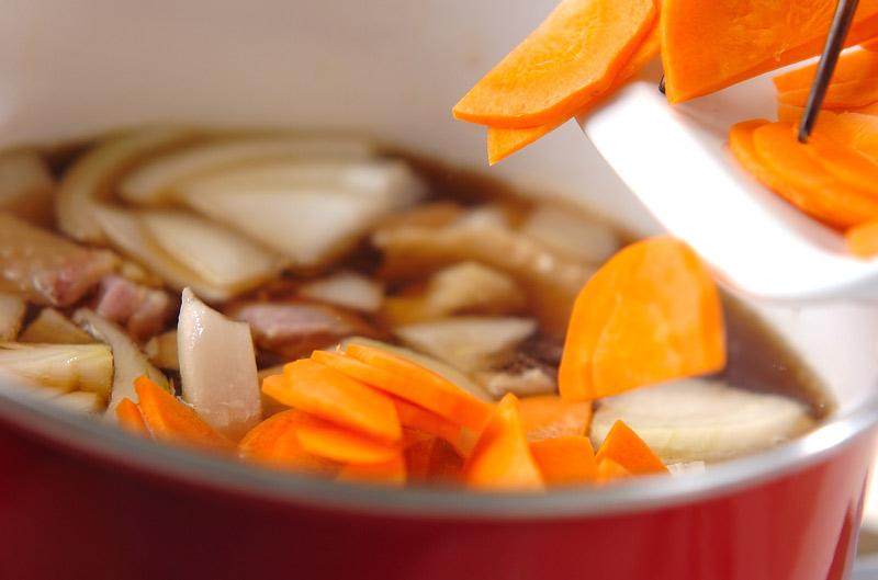 親子丼の作り方の手順6