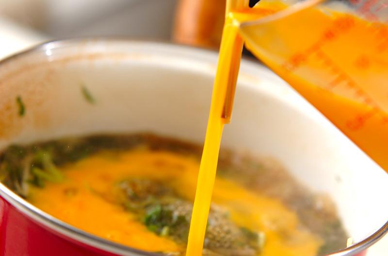 親子丼の作り方の手順8