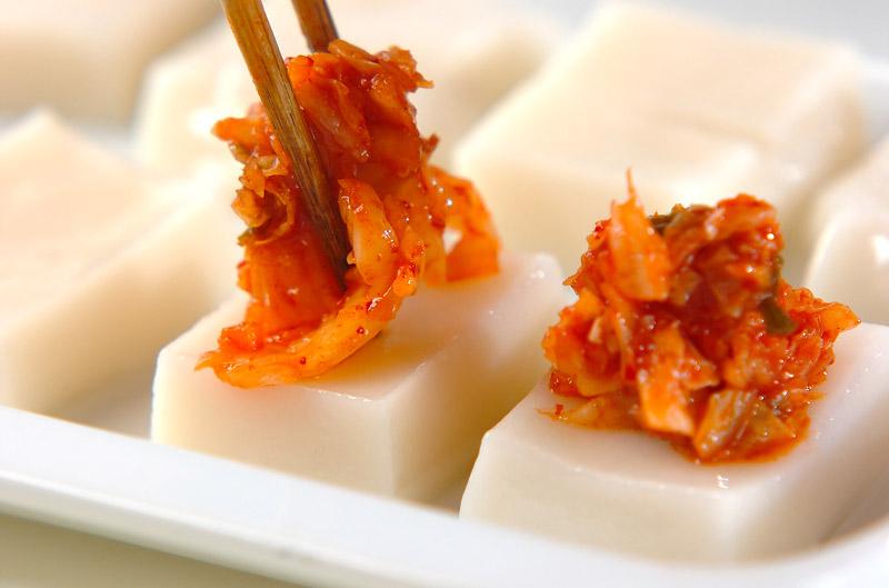 キムチ餅の作り方2