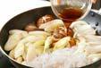 皿盛りすき焼きの作り方の手順8