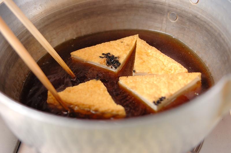 ほっとする味 厚揚げと大根の煮物の作り方の手順4