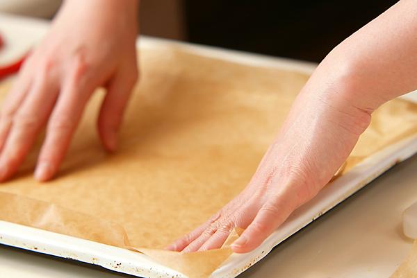 季節のフレッシュフルーツロールケーキの作り方の手順1