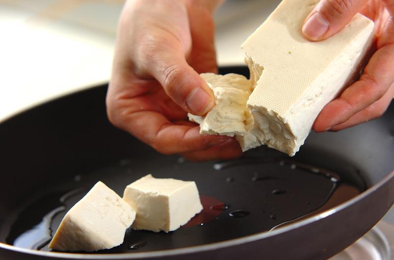 豆腐の卵とじの作り方の手順4