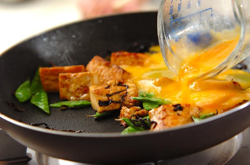 豆腐の卵とじの作り方の手順5