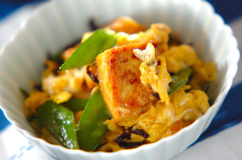 豆腐の卵とじの作り方の手順