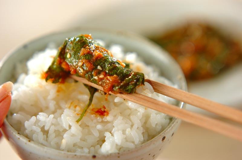 大葉の辛み漬け【E・レシピ】料理のプロが作る簡単レシピ/2008.06.24公開のレシピです。