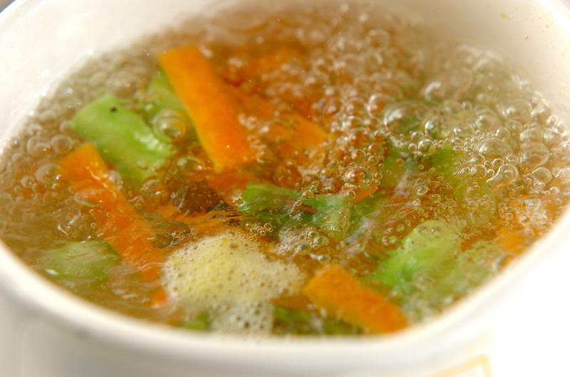 豆腐のグリーンサラダの作り方の手順6