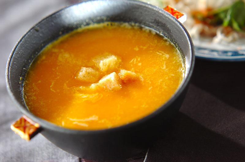 濃厚カボチャのスープ