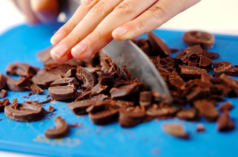 ホットチョコベリージャムの作り方の手順1