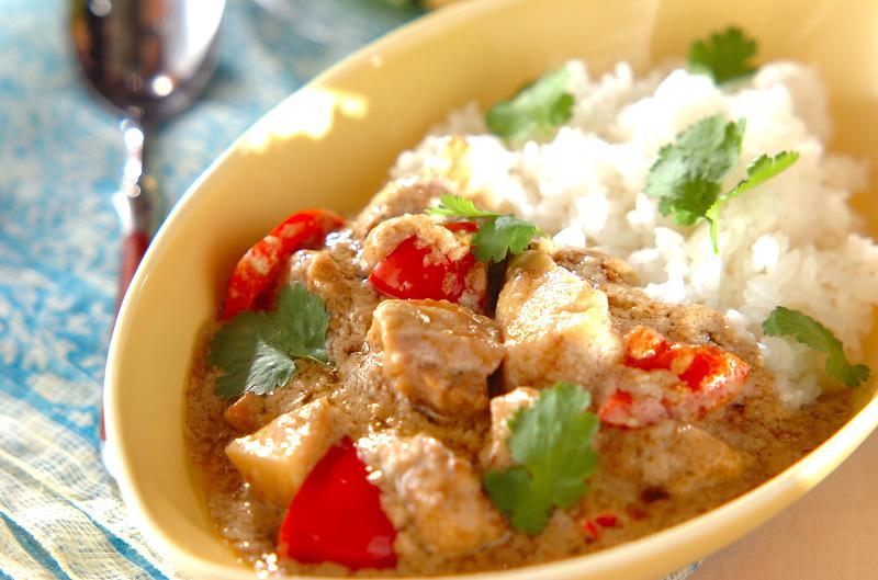 タイ風カレー【E・レシピ】料理のプロが作る簡単レシピ/2010.04.05公開のレシピです。
