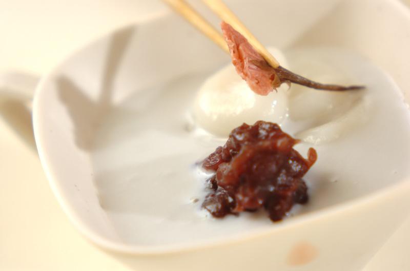 白玉入りココナッツ汁の作り方の手順4