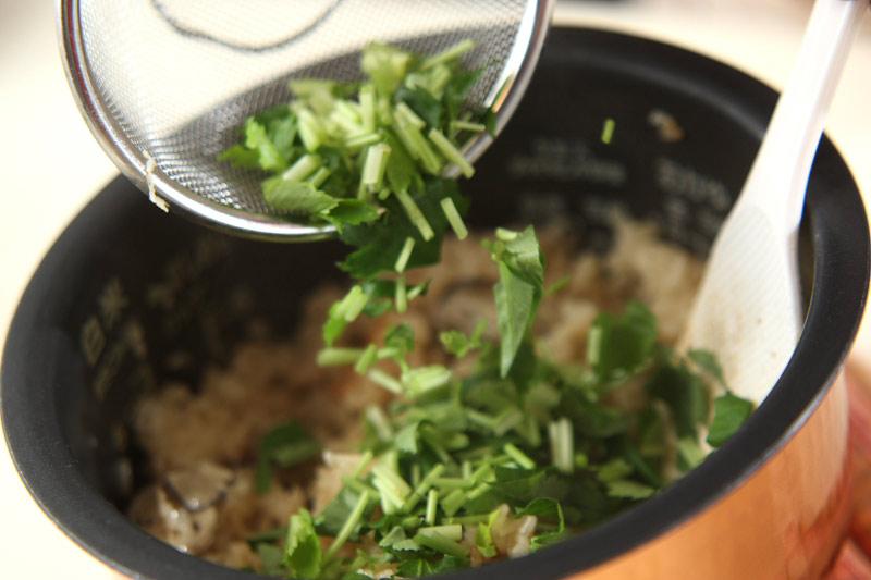 カキご飯の作り方の手順7