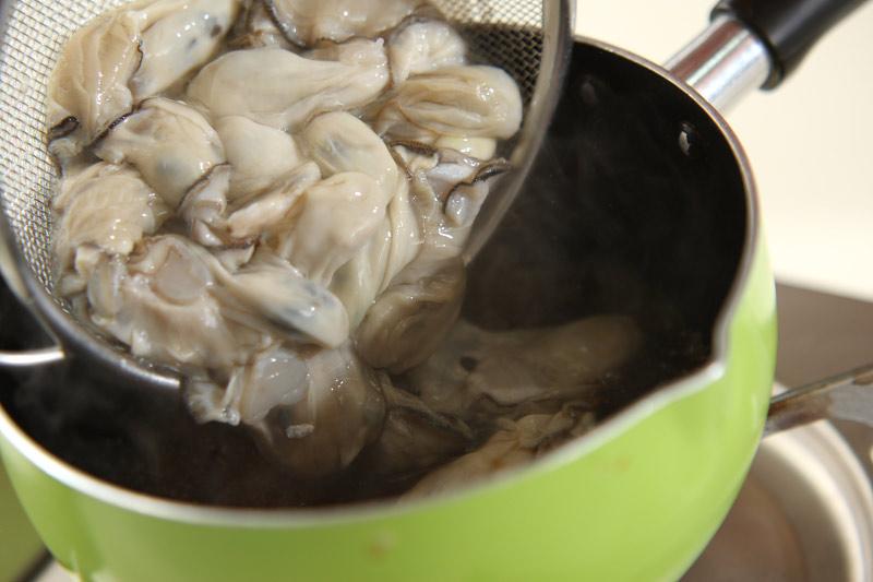 カキご飯の作り方の手順5