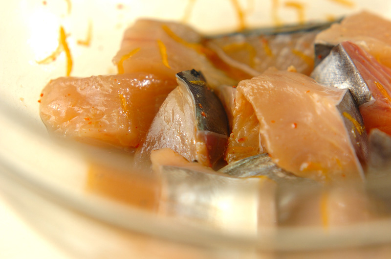サワラのユズ焼きの作り方の手順5