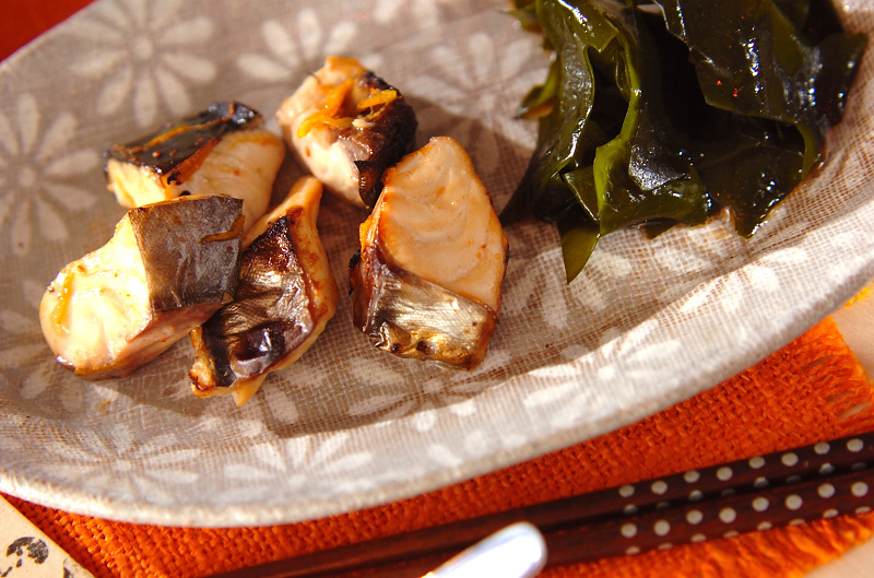 サワラのユズ焼きの作り方の手順