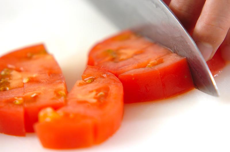 トマトのワサビマリネの作り方の手順1