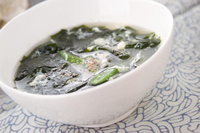 卵のふわふわスープの作り方の手順